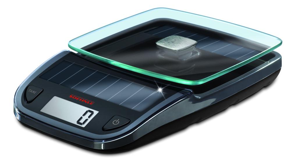Soehnle EASY SOLAR GREY solární kuchyňská váha 66188