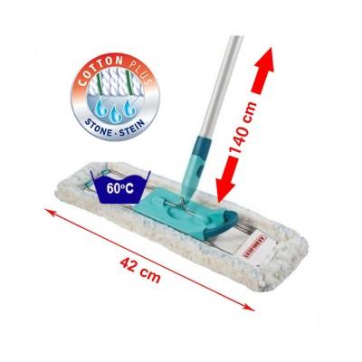 Leifheit PROFI COTTON PLUS podlahový mop s kovovou tyčí 55215